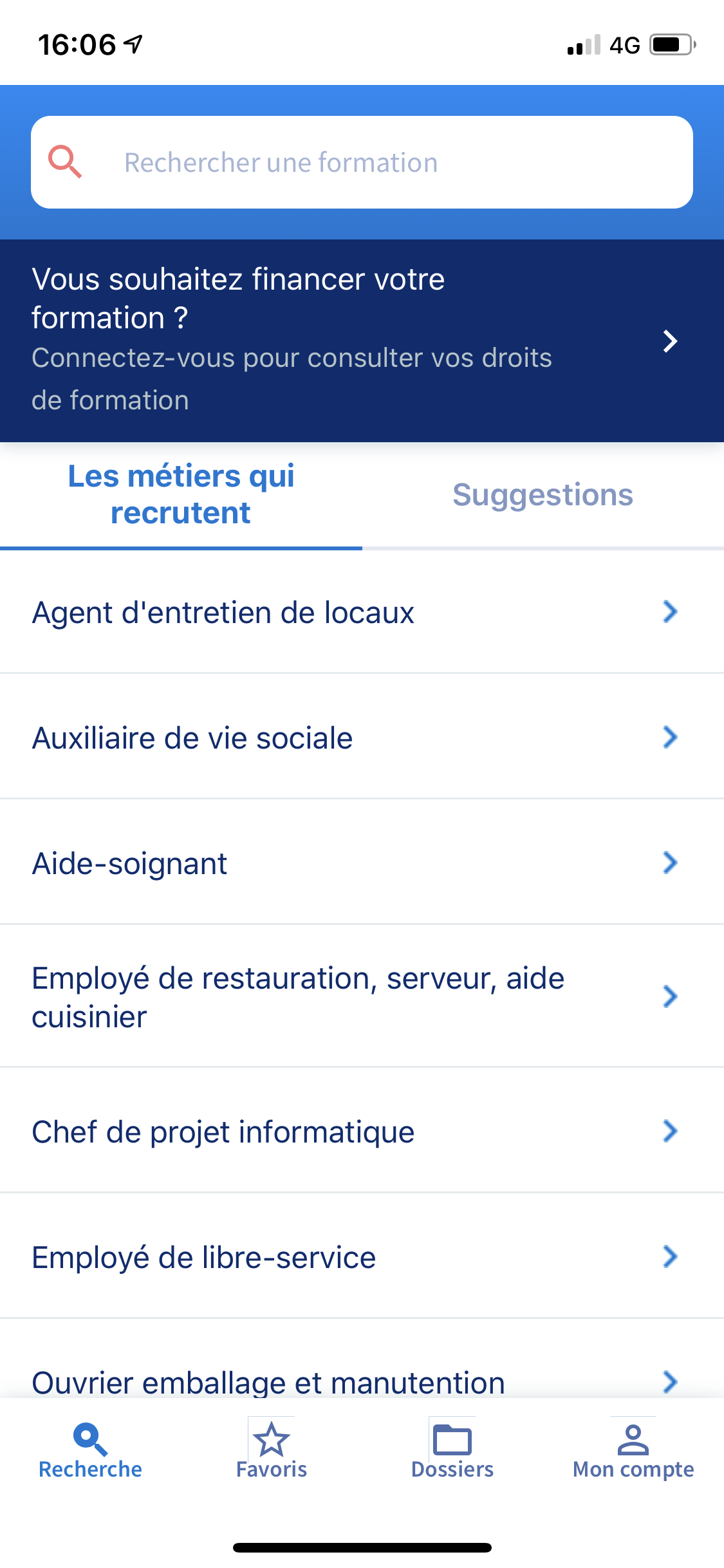 Application Mobile Mon CPF